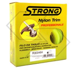 Filo per decespugliatore - Tondo 2,4 mm - 100 m - Strong - In scatola