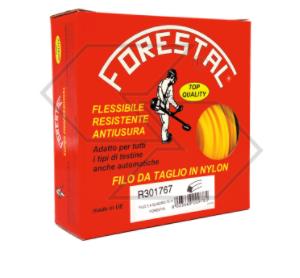 Filo per decespugliatore - Tondo 3,5 mm - 40 m - Forestal - In scatola