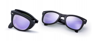 Rayban Rb 4105 Folding Wayfarer Flash Lenses (Pieghevoli)