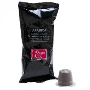 CAPSULE CAFFE' ARABICA COMPATIBILI NESPRESSO-  100 Pezzi