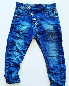 Jeans stropicciato bambino 3-16anni