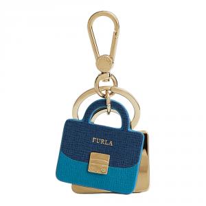 Porta chiavi Furla VENUS 828890 BLU COBALTO