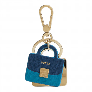 Key ring Furla VENUS 828890 BLU COBALTO