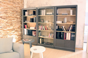 Bookcase composition Selva model