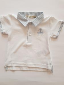 Polo neonato con barchetta