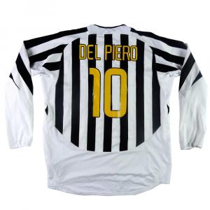 2003-04 Juventus Maglia Home #10 Del Piero XXL