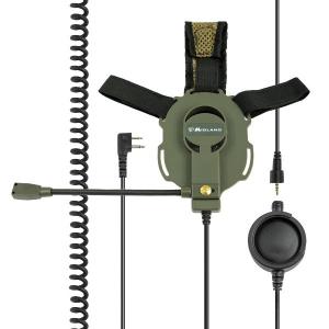 BOW-M EVO - Microfono / auricolare 2 Pin