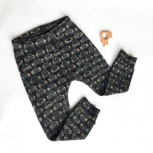 Pantalone harem in cotone biologico