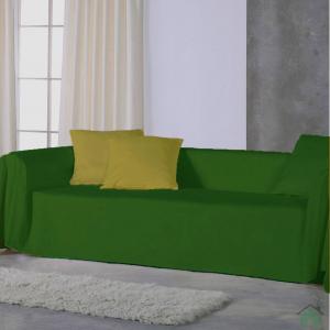 Copridivano copritutto telo Panama 170x270 cm - verde inglese