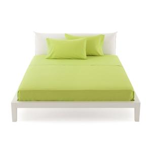 Bassetti Time Lenzuola di sopra per letto singolo 160x280 - verde 3205
