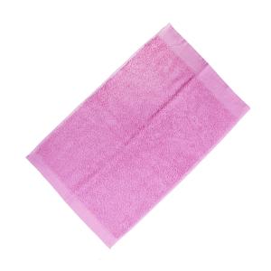 Happidea asciugamano ospite in spugna Voglia di Colore 450 grammi 40x60 cm - rosa