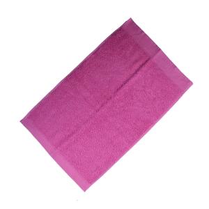 Happidea asciugamano ospite in spugna Voglia di Colore 450 grammi 40x60 cm - fresia