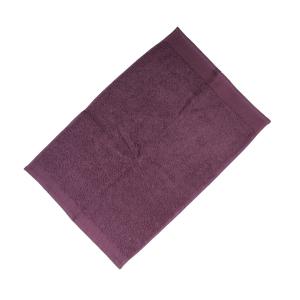 Happidea asciugamano ospite in spugna Voglia di Colore 450 grammi 40x60 cm - malva