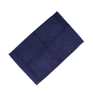 Happidea asciugamano ospite in spugna Voglia di Colore 450 grammi 40x60 cm - blu navy