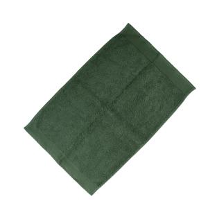 Happidea asciugamano ospite in spugna Voglia di Colore 450 grammi 40x60 cm - muschio