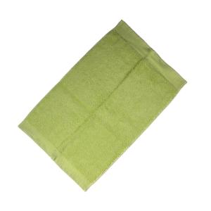 Happidea asciugamano ospite in spugna Voglia di Colore 450 grammi 40x60 cm - verde acido