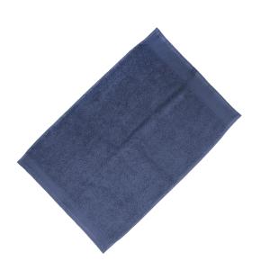 Happidea asciugamano ospite in spugna Voglia di Colore 450 grammi 40x60 cm - avio