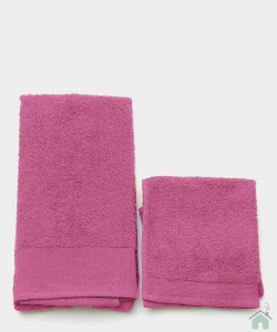 Asciugamani Happidea set 1+1 viso e mani, bagno piscina arredo fresia