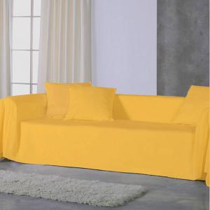 Copridivano copritutto telo Panama 170x270 cm - giallo