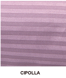 Coppia di Federe in raso di puro cotone ISTAR Jacquard Cipolla