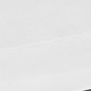 Lenzuola di sopra ISTAR RASO DI PURO COTONE LISCIO 250x290 bianco