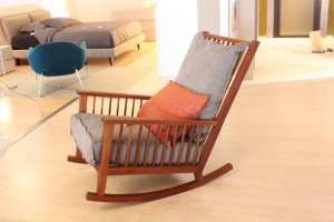 Rocking chair with Gervasoni
