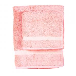 Asciugamano e ospite  COGAL in spugna 650 grammi colore Rosa chiaro 010