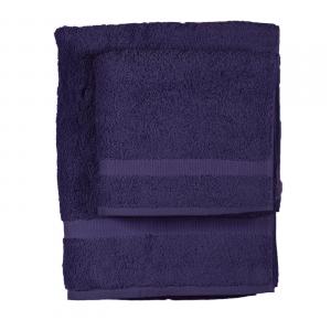 Asciugamano e ospite  COGAL in spugna 650 grammi colore Viola scuro 102
