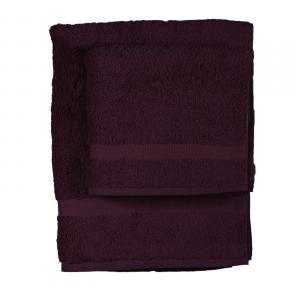 Asciugamano e ospite  COGAL in spugna 650 grammi Porpora 016