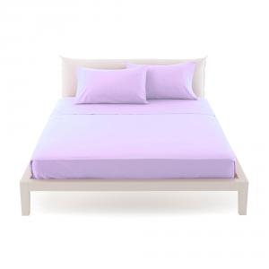 Bassetti Time Lenzuola di sopra per letto singolo 160x280 - Glicine