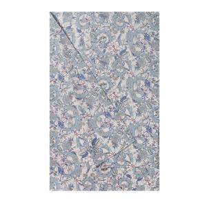Granfoulard telo arredo copritutto ZUCCHI Collection LEYLA 3 azzurro - 180x270 cm