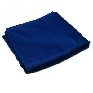 Lenzuola con angoli  ISTAR RASO DI PURO COTONE JACQUARD 180x200x30 - blu