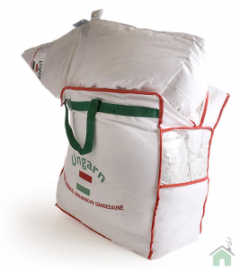 Daunex piumino d'oca 100% Ungherese 4Stagioni- 1 piazza e mezza maxi 200x220 cm