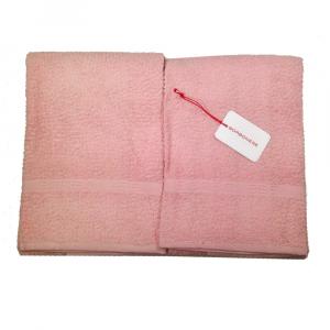Set 5 pezzi 2 asciugamani, 2 ospiti e 1 telo Borbonese PRECIOUS - erica