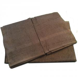 Set 5 pezzi 2 asciugamani, 2 ospiti e 1 telo Borbonese PRECIOUS- wengè