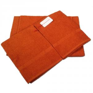 Set 5 pezzi 2 asciugamani, 2 ospiti e 1 telo Borbonese PRECIOUS ruggine