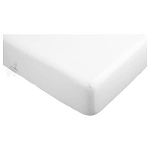 Lenzuola con angoli matrimoniali per letti grandi 180x200 cm + 30 di altezza - bianco