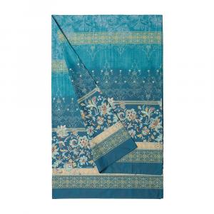 Bassetti Granfoulard telo arredo VASARI var. 2 verde puro cotone - 180x270 cm