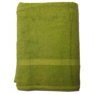 Telo da bagno 100x150 cm SERENITY in spugna tinta unita - verde 033