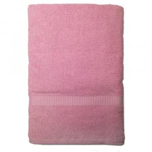 Telo da bagno 100x150 cm SERENITY in spugna tinta unita - rosa antico 055