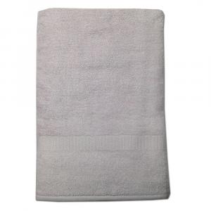 Telo da bagno 100x150 cm SERENITY in spugna tinta unita - silver grey 088
