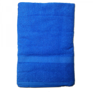 Telo da bagno 100x150 cm SERENITY in spugna tinta unita - bluette 046