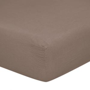 Sotto lenzuolo con angoli matrimoniali 170x200 cm in puro lino LOFT - lino