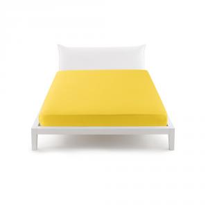 Bassetti Pop Color Lenzuolo con angoli per letto matrimoniale 175x200 cm - giallo 1472