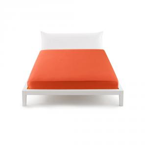 Bassetti Pop Color Lenzuolo con angoli per letto matrimoniale 175x200 cm - arancione 1965