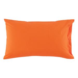 Federa 50x80 cm 100% puro cotone CLIC CLAC Zucchi - mandarino