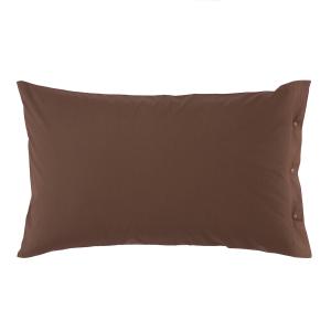 Federa 50x80 cm 100% puro cotone CLIC CLAC Zucchi - cacao