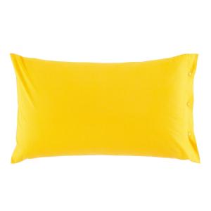 Federa 50x80 cm 100% puro cotone CLIC CLAC Zucchi - giallo