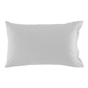 Federa per cuscino 50x80 cm in percalle CLIC CLAC Zucchi - var. grigio pietra