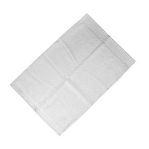 Happidea asciugamano ospite in spugna Voglia di Colore 450 grammi 40x60 cm - bianco